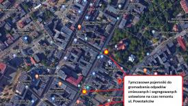 Remont ulicy Powstańców